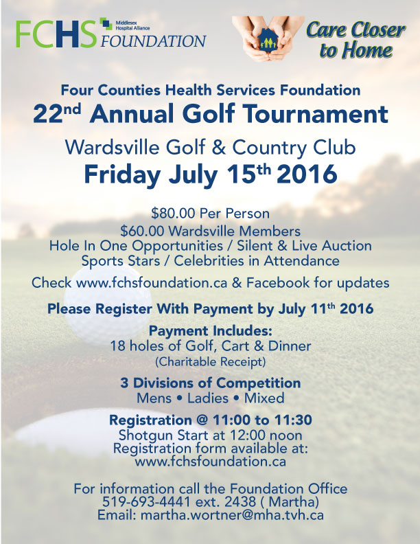 Click to download the poster for our 2016 Golf Tournament